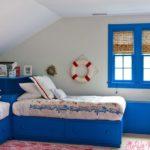 banner dekorasi kamar anak laki laki sederhana