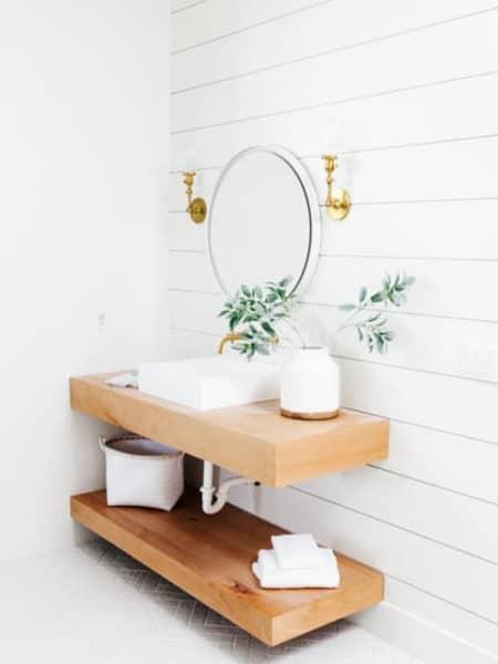 aksesoris di kamar mandi ukuran 1x1