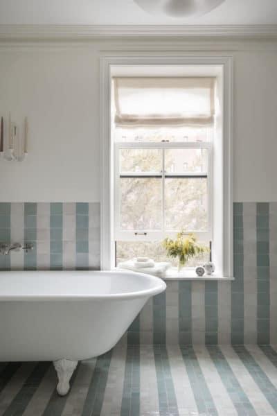 keramik kamar mandi kecil elegan